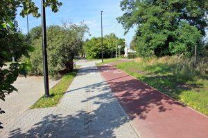 Zakończyła się budowa ścieżki rowerowej i chodnika, które połączyły ulice Narcyzów i Chryzantem w Rudzie Śląskiej – Rudzie