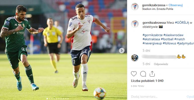 Igor Angulo został ojcem (fot. instagram gornikzabrzessa)