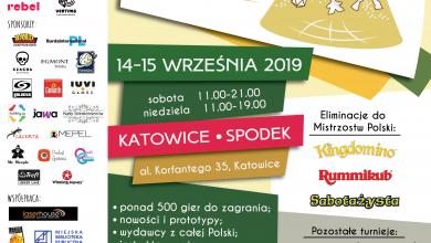 Katowice: Planszówki opanują Spodek już w najbliższy weekend (fot.mat.prasowe)