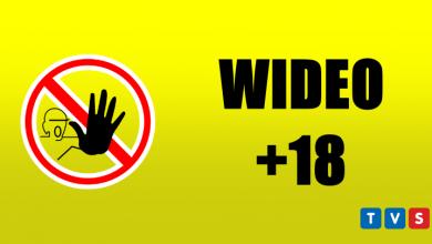 """""""Dzieci będziesz pedaliła?"""" Mężczyzna zrywający plakat Trzaskowskiego z zarzutami [WIDEO 18+]"""