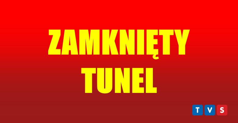Wypadek śmieciarki! Tunel w Katowicach zamknięty