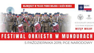Festiwal Orkiestr Mundurowych na PGE Narodowym (fot.mat.prasowe)