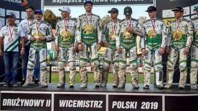 Żużlowcy Włókniarza Częstochowa na podium Drużynowych Mistrzostw Polski! (fot. Włókniarz Częstochowa)