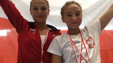 Julia Wojciechowskia z Bytomia wywalczyła mistrzostwo świata w akrobatyce powietrznej (fot. UM Bytom)