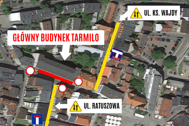 Rozpoczyna się rozbiórka budynku Tarmilo w Tarnowskich Górach. Będą UTRUDNIENIA