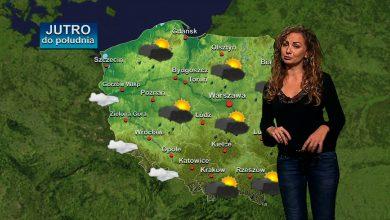 Nina smutną ma minę, bo zakłada pelerynę ;-) Jakoś tak nam się zrymowało patrząc na zdjęcie z najnowszej prognozy pogody TVS