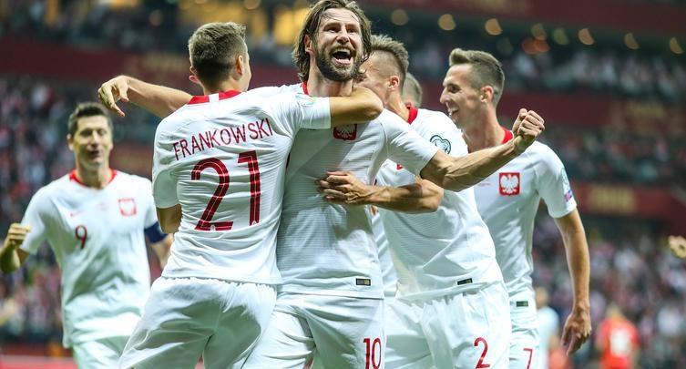 JEEEEST! Jedziemy na Euro 2020! Polska pokonała Macedonię Północną 2-0! (fot.Łączy nas Piłka)