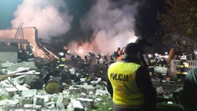 Potężny wybuch w domu jednorodzinnym. Dwie osoby nie żyją, dziecko przebywa w szpitalu (fot.policja.pl)