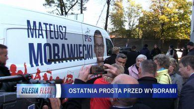 Mateusz Morawiecki w Zawierciu. Ostatni dzień na walkę o głosy wyborców [WIDEO]
