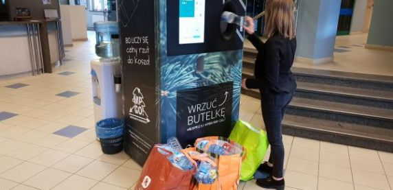Sosnowiec: mieszkańcy zdecydują, gdzie staną automaty na butelki
