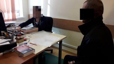 Wdarł się do mieszkania byłej partnerki i usnął na podłodze. 36-latek aresztowany na trzy miesiące (fot.KSP)
