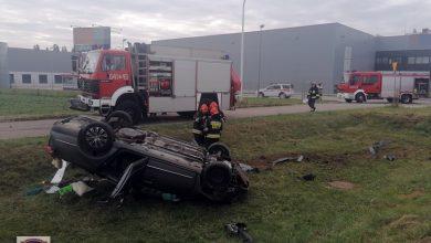 Tragiczny wypadek w Tychach: kierowca zginął. W samochodzie było także dziecko