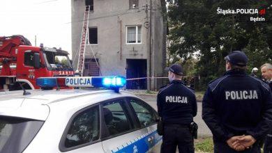Wybuch gazu w Wojkowicach [WIDEO, NOWE FAKTY] (fot.Śląska Policja)