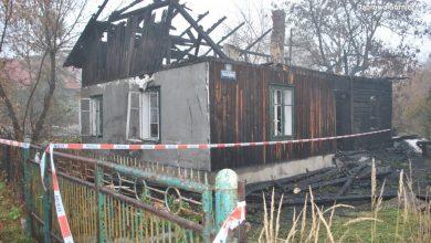 Pożar w Antoniowie (fot. policja)