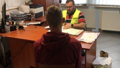 """Jaworzno: """"Do trzech razy sztuka"""". 19-latek wpadł, bo zgubił dokumenty (fot.KMP Jaworzno)"""