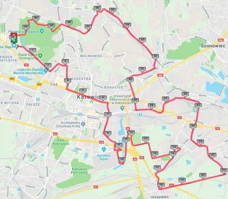 Jutro Silesia Marathon. Będą spore utrudnienia w ruchu. Zobaczcie, jakie
