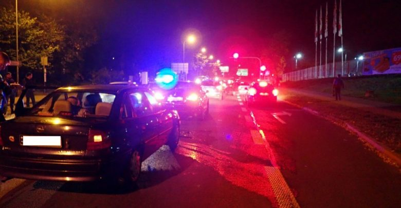 2 promile, czerwone światło i dzwon! Zobaczcie, jak się skończyła jazda po pijaku w Rybniku! (fot.KMP Rybnik)