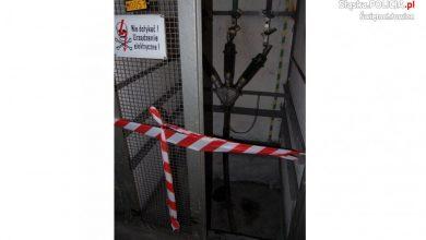 Świętochłowice: Włamali się do stacji transformatorowej. Jeden z nich nie żyje (fot.Śląska Policja)