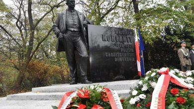 W Warszawie został dziś odsłonięty pomnik Wojciecha Korfantego. Stanął u zbiegu al. Ujazdowskich i ul. Agrykola (fot.slaskie.pl)