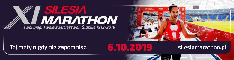 XI PKO Silesia Marathon - trasa (żródło: silesiamarathon.pl)