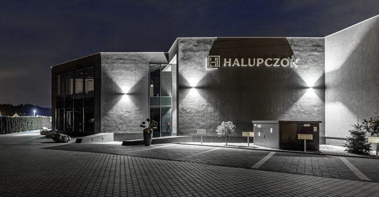 Siedziba główna firmy Halupczok wraz z flagowym showroomem - Halupczok Lab (fot. Krzysztof Strażyński)