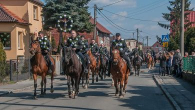 Procesja konna z Gliwic-Ostropy mają szanse znaleźć się na liście dziedzictwa kulturowego fot. Z. Daniec / UM Gliwice