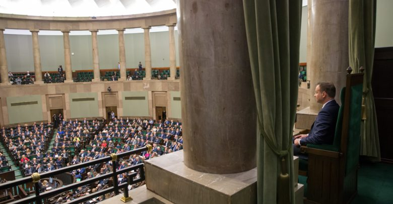 Pierwsze posiedzenie Sejmu nowej kadencji 12 listopada (fot.prezydent.pl)