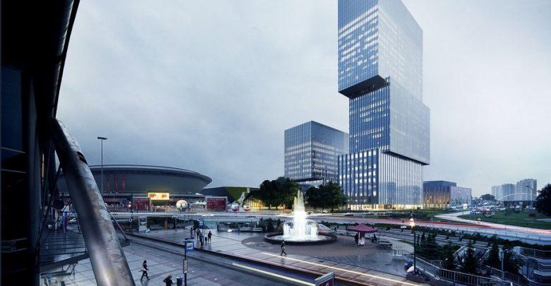 Rozpoczyna się budowa .KTW II w Katowicach. Budynek będzie miał 133 metry