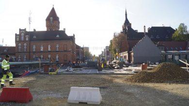 Dobiegają końca prace przy budowie nowego mostu nad Kłodnicą. Konstrukcja jest już gotowa (UM Gliwice)