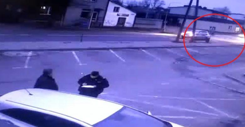 Śląskie: Dosłownie zmiótł kobietę z pasów! Policja pokazuje przerażające WIDEO