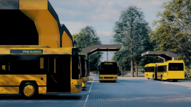 Już niebawem po gliwickich ulicach będą jeździć ekologiczne, zeroemisyjne elektrobusy. PKM Gliwice otrzymało 26,9 mln zł dofinansowania z Unii Europejskiej na zakup dziesięciu elektrycznych autobusów (fot.PKM Gliwice)