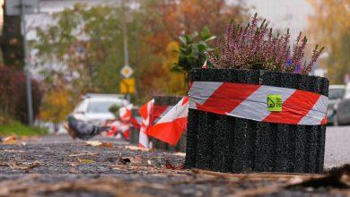 Katowice: Mieszkańcy Koszutki walczą z dzikim parkowaniem i stawiają klomby z roślinami!