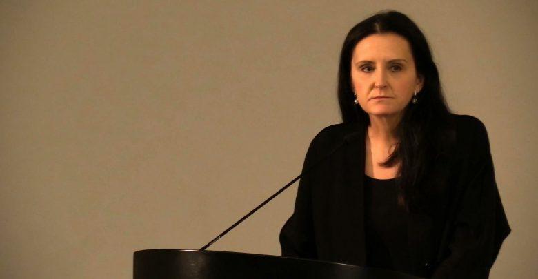 Alicja Knast, dyrektor Muzeum Śląskiego spotkała się dziś z dziennikarzami, by odnieść się do wyników kontroli, które mają być podstawą do jej odwołania ze stanowiska