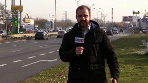 Normalny ruch na Drogowej Trasie Średnicowej udało się przywrócić dopiero po kilku godzinach. Dla TVS Silesia Flesz, Radosław Nosal