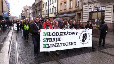 Przez Katowice i Gliwice przeszedł Młodzieżowy Strajk Klimatyczny