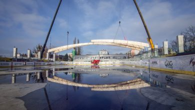 Bytom: trwa budowa lodowiska. Zobacz zdjęcia! Fot. UM w Bytomiu