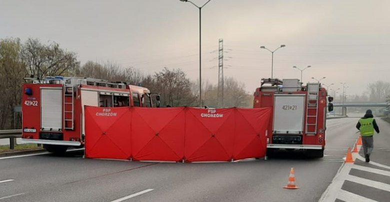 Chorzów: Tragiczny wypadek na DTŚ [NOWE FAKTY, ZDJĘCIA] (fot.Śląska Policja)