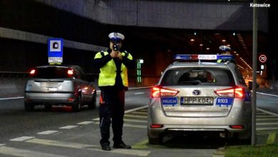 Śląskie: Jechała za szybko. Święta spędziła za kratkami (fot.policja.pl)
