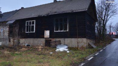 Śląskie: Tragiczny pożar w powiecie myszkowskim. Jedna osoba nie żyje, druga w stanie ciężkim przebywa w szpitalu (fot.Śląska Policja)