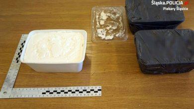 Śląskie: Przewozili 2,5 kilograma amfetaminy. Wpadli na autostradzie A4 (fot.Śląska Policja)