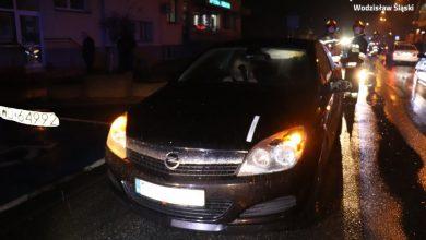 Śląskie: 15-latka potrącona na przejściu dla pieszych przez dwa samochody (fot.Śląska Policja)