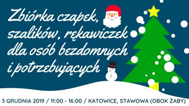 Katowice: Zbiórka czapek, szalików i rękawiczek. Rzeczy trafią do osób bezdomnych i potrzebujących (fot.mat.prasowe)