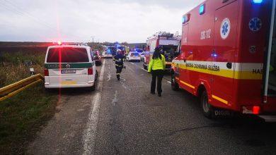 Koszmarna tragedia na Słowacji! W wypadku autobusu, wiozącego uczniów zginęło 12 osób, co najmniej 17 zostało rannych! fot. facebook/Prezídium Hasičského a záchranného zboru