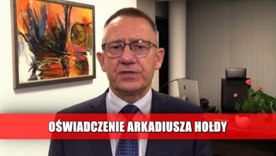 OŚWIADCZENIE Arkadiusza Hołdy, Prezesa Telewizji TVS [WIDEO]
