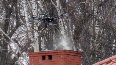 Czechowice-Dziedzice kontra truciciele. Rozpoczęły się loty dronem