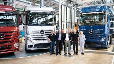 Samochody ciężarowe Mercedes-Benz