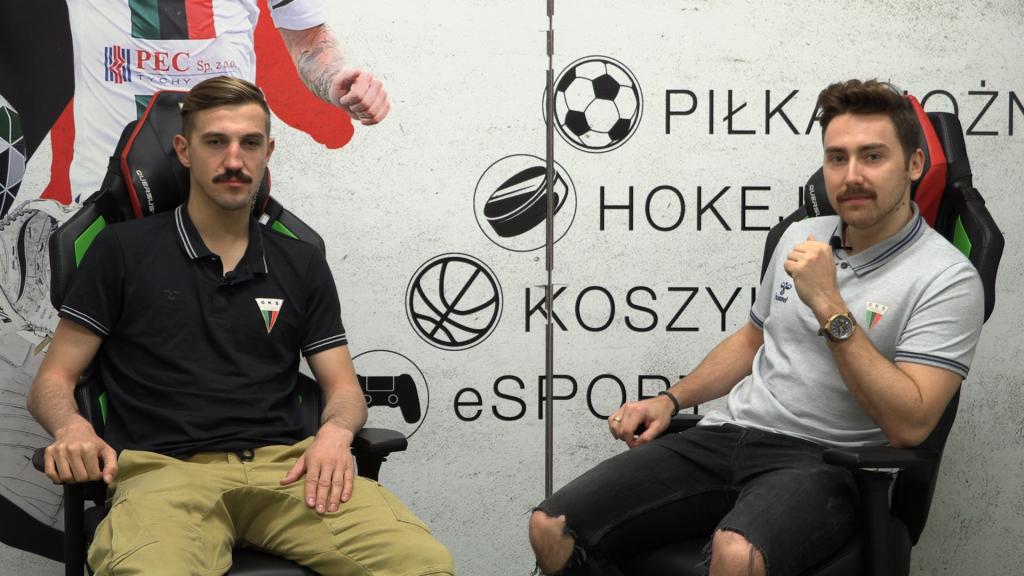 Zawodnicy GKS Tychy zapuszczają wąsy - wszystko w ramach akcji MOVEMBER. (fot.GKS Tychy)