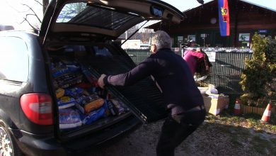 Zbiórka społecznika z Siemianowic zakończona sukcesem! Mateusz Dela zebrał górę karmy dla zwierząt!