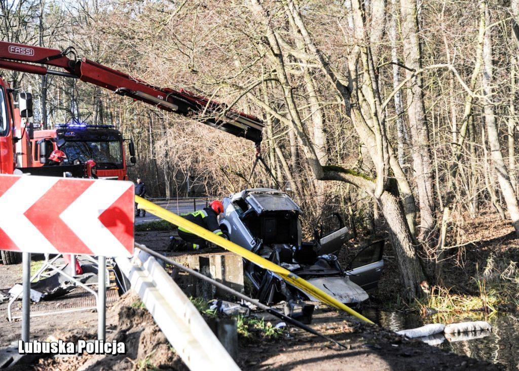5 nastolatków zginęło w samochodzie, który wpadł do stawu!