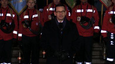 Premier Morawiecki na obchodach rocznicy pacyfikacji KWK Wujek: Byliśmy karmieni kłamstwami!
